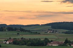 1606024402 Near Neulengbach, Lower Austria (Wolfgang_Kraus) Tags: niederösterreich loweraustria landscape pentax smcpentaxfa200mmf28edif evening sky clouds fields forest piplkan
