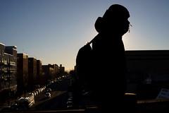 Bay Parkway (dtanist) Tags: nyc newyork newyorkcity new york city sony a7 konica hexanon brooklyn gravesend bensonhurst bay parkway station mta subway platform 86th street commuter silhouette