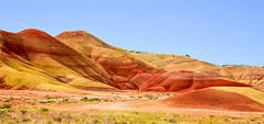 Painted Hills, Oregon (maytag97) Tags: painted hills maytag97 nikon d750 oregon central usa geology colorful day nature monument john dry national color fossil unit red background landscape outdoor park rock scenic scenery america picturesque terrain erosion formations beautiful view beauty clay beds abstract
