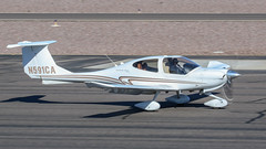 Diamond DA40 Diamondstar N591CA (ChrisK48) Tags: kdvt aircraft airplane diamondstar phoenixaz n591ca phoenixdeervalleyairport dvt diamondda40 2007