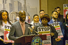 Jedidiah Brown for the 7th Ward City of Chicago Aldermanic Candidates Press Conference to Support Civilian Police Accountability Council Chicago Illinois 1-9-19 5578 (www.cemillerphotography.com) Tags: cops brutality shootings killings rekiaboyd laquanmcdonald oversight reform corruption excessiveforce expensivelawsuits policeacademy