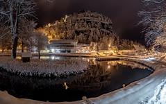 Der Kleine Teich (matthias_oberlausitz) Tags: oybin teich kloster ruine burg bergkirche winter schnee felsen sandstein touristinformation oberlausitz lausitzer gebirge zittauer lužické hory