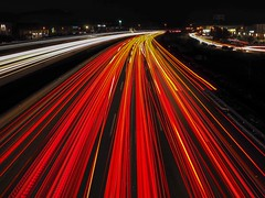 Run away (jocsdellum) Tags: run away speed light llums carlights nocturna night noctural nit cotxes llum luz velocitat llargaexposició longexposure autopista motorway highway noche