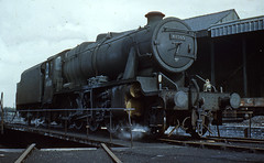 turning at northwich (midcheshireman) Tags: steam train locomotive shed engineshed northwich 8e turntable cheshire