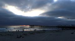Ocean Beach Pier at sunset (raffaele pagani) Tags: oceanbeachsandiego ob sandiego calofornia unitedstates spiaggia mare oceano oceanopacifico pacificocean canon