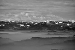 DECEMBER-VIEW INTO WESTERN STYRIA (LitterART) Tags: weststeiermark westernstyria steiermark berge monutains schnee snow wetter nikon d800 zoom monochrome foh nebel nikond800 fx stubalpe hirschegg gaberl