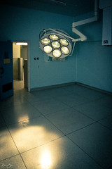 Alien or Theatre Light? (Dan Elms Photography) Tags: ech essexcountyhospital theatre light medical urbex danelms danelmsphotography wwwdanelmsphotouk