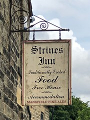 Strines, Sheffield (cherington) Tags: strinesinn sheffield england unitedkingdom freehouse mansfieldales strines bradfielddale pictorialsigns pubsigns traditionalpubsigns englishpubsigns socialhistory innsigns