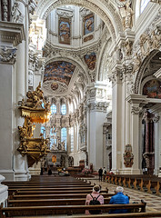 Dom Passau (Aviller71) Tags: passau dom cathedral church baroque barock stuck germany deutschland architecture architektur