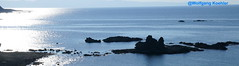 Mediterranean sea, Cyprus (elbigote1946) Tags: bay pomos cyprus light rocks sea silverysurface