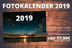 Es ist wieder soweit! Mein neuer Fotokalender 2019 ist gerade im Druck. 13 neue Motive aus Görlitz und der Region warten darauf von Euch entdeckt zu werden! Verfügbar ab ca. 26.11. - Sichert Euch jetzt den Kalender für 17,90€! Das Angebot gilt bis zum 30. (paul.glaser) Tags: görlitz germany paul glaser