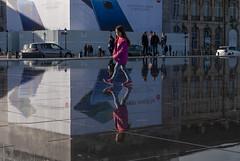 Place de la Bourse, Bordeaux, France (Tiphaine Rolland) Tags: bordeaux france gironde autumn automne 2018 nikond3000 nikon d3000 placedelabourse place eau water miroirdeau reflet reflect reflection
