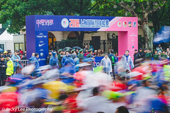 LD4_9494 (晴雨初霽) Tags: shanghai marathon race run sports photography photo nikon d4s dslr camera lens people china weekend november 2018 thousands city downtown town road street daytime rain staff