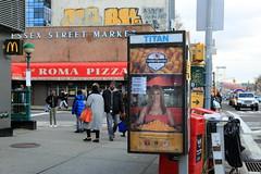 trumps bistro: the best place for zero taste (Luna Park) Tags: ny nyc newyork manhattan adtakeover streetart apresidentialparody abelincolnjr maialorian lunapark mq blake loose graffiti