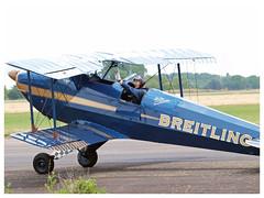 Bücker 131 Jungmann | Breitling (Aerofossile2012) Tags: fazvk bücker131 jungmann breitling avion aircraft aviation airshow meeting ba102 dijon longvic 2017 meetingdefrance people pilot pilote