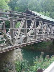 Ponn Humpback Covered Bridge (dankeck) Tags: raccooncreek vintoncounty ohio appalachian