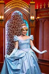 Cinderella (jodykatin) Tags: cinderella disneyland facecharacter