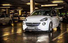 Opel Adam (Arranion) Tags: auto automotive car motor opel adam parking garage canon