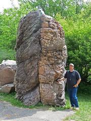 Quartzite & slate (Baraboo Quartzite, upper Paleoproterozoic, ~1.7 Ga; Van Hise Rock, just north of Rock Springs, Wisconsin, USA) 6 (James St. John) Tags: baraboo quartzite precambrian proterozoic paleoproterozoic rock springs wisconsin range van hise