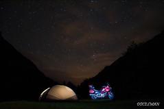 Free camping (DOCESMAN) Tags: moto bike motor motorcycle motorrad motorcykel moottoripyörä motorkerékpár motocykel mototsikl honda nt700v ntv700 deauville docesman danidoces noche nocturna estrellas stars vialactea milkyway acampada camping adventure tiendadecampaña