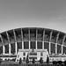 City stadium Skopje, Macedonia by Dragan Krstev, Todorka Mavkova - 1977