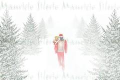 lost (Mau Silerio) Tags: christmas xmas santa claus natale craciun noel snow fog gift tree model modelling models sony alpha gas mask steampunk postapocalyptic woods