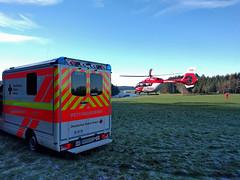 Take off (Paramedix) Tags: hubschrauber helicopter ems rettungsdienst ambulance einsatz christoph11 rettungswagen oberndorf germany deutschland badenwürttemberg