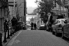 look back... (n.okyayli) Tags: istanbul nikond70s blackandwhite monochrome kadıköy yeldeğirmeni