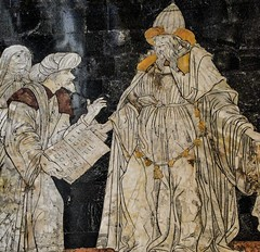 Italy, floor inlay in the Cathedral of Siena... Hermes Trismegistus, founder of human wisdom by Giovanni di Stefano (marek&anna) Tags: italy siena cathedral duomo floorinlay inlay hermestrismegistus giovannidistefano floor