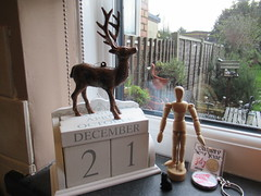 """Friday, 21st, When the """"Sun stands still"""" IMG_0904 (tomylees) Tags: reindeer calendar perpetual essex morning winter december 2018 21st friday"""