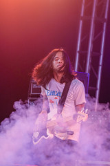 Lead Guitarist of a local band, Day Dream Festival, Bacolod City (wuestenigel) Tags: instrument daydreamfestival goodvibes piano localband goodmusic philippines bacolod guitar lights bass drums chill masskarafestival musicfestival lowlightphotography eventphotography mic lighting music stage singers