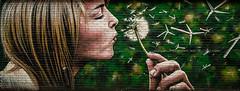 Wind Power (Brian Travelling) Tags: scotland pentax mural glasgow trail glasgowmuraltrail city urban street art