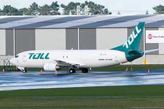 Photo (Rorohiko) Tags: zkjtq airwork boeing 737 737400sf christchurch