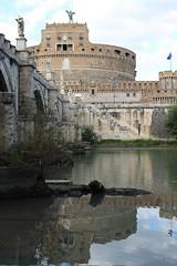 IMG_2677_ (Stefano Palma) Tags: reflection reflections riflesso riflessi fiume tevere river roma castle castello rome castelsantangelo