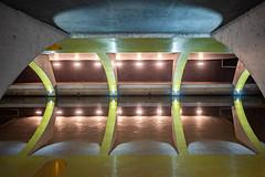 Calm Reflection (Roderick van der Steen) Tags: sonyalpha 24mmf14g novoflex f14 reflections water tunnel
