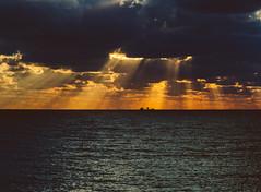 P1091226 (mr. Wood) Tags: ep5 computar olympus cyprus paphos larnaca mediterranian waves sunset sea water sky
