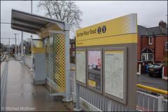 Manchester Metrolink Barlow Moor Road (Mike McNiven) Tags: manchester metrolink tram metro barlowmoorroad airportline chorlton sign signage