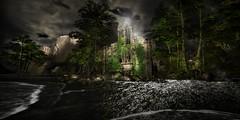 Valium (к є к ѕ ∂ σ ѕ є) Tags: valium landschaft meer wald ruine kloster berg bäume wasser licht