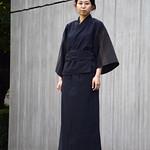 新潟伝統織物 亀田縞の写真