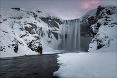 Skogafoss (Jose Cantorna) Tags: islandia iceland skogafoss hielo ice nieve snow cascada waterfall water nikon d610 nature naturaleza landscape