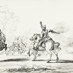 Cavalry fight by Jean Bernard (1775-1883). Original from The Rijksmuseum. Digitally enhanced by rawpixel. thumbnail