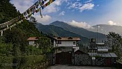 View from Club Mahindra, Gangtok, Sikkim (diamondwarrior) Tags: landscapephotography landscape clubmahindra gangtok sikkim india october northeast mountains travelphotography
