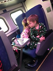"Inde and Paul on the Polar Express • <a style=""font-size:0.8em;"" href=""http://www.flickr.com/photos/109120354@N07/46440324911/"" target=""_blank"">View on Flickr</a>"