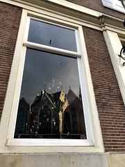 Amsterdam reflections (s_evil) Tags: artistic lights tree christmas amsterdam birds windows reflections