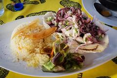 20181215_200121 (jaglazier) Tags: 121518 2018 ceviche chile copyright2018jamesaferguson december easterisland hangaroa rice tatakuvave cephalopods octopus octopusceviche restaurants valparaisoregion