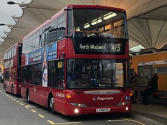 Lovely Scanias on the way to The local airport. Get them in while you can before the contract change. | Stagecoach London Scania Omnicity on the 473 to North Woolwich. (alexpeak24) Tags: northwoolwich stratford 473 omnicity scania london stagecoach