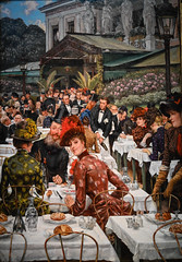 James Tissot - The Artists' Wives, 1885 at Chrysler Museum of Art Norfolk VA (mbell1975) Tags: norfolk virginia unitedstates us james tissot the artists wives 1885 chrysler museum art va museo musée musee muzeum museu musum müze museet finearts fine arts gallery gallerie beauxarts beaux galleria painting impression impressionist impressionism american realist realism