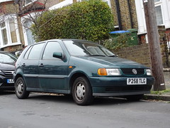 1997 Volkswagen Polo 1.6 CL Auto (Neil's classics) Tags: vehicle car 1997 volkswagen polo 16cl vw