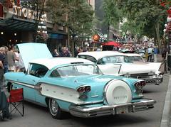 1958 Pontiac Bonneville 2-door hardtop (D70) Tags: pontiac 2door hardtop annualsteamworks concoursdelegance 2005 gastown vancouver britishcolumbia canada bonneville