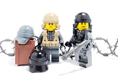 Coming Friday - Italian Tanker Helmet (BrickWarriors - Ryan) Tags: brickwarriors custom lego minifigure weapons helmets armor ww2 italian axis world war tanker warfare military battle